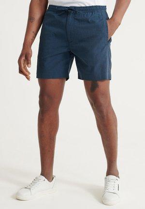 SUPERDRY EDIT TAPER DRAWSTRING SHORTS - Shorts - prussian blue texture