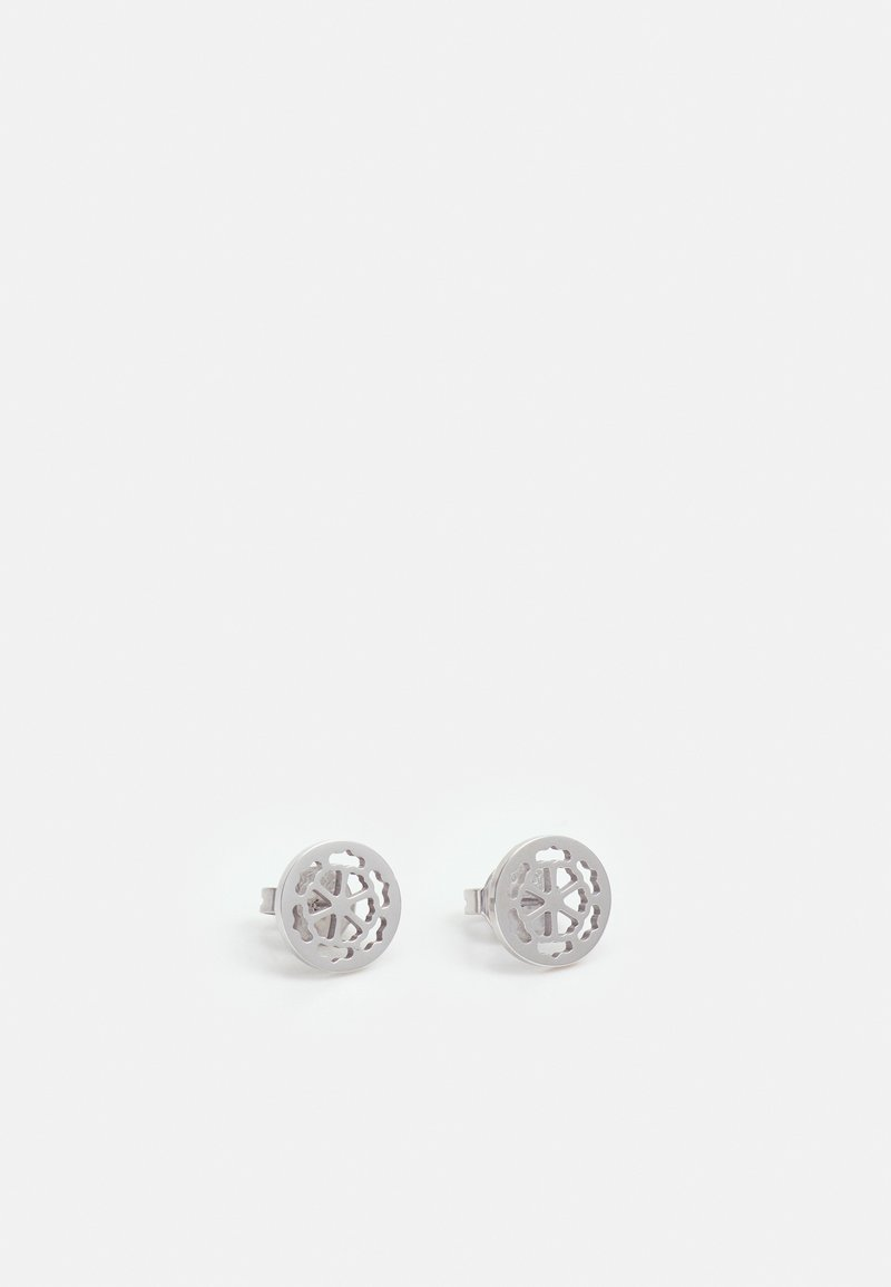 Guess - PEONY ART - Earrings - silver-coloured