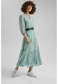 Esprit - Maxi dress - turquoise - 1