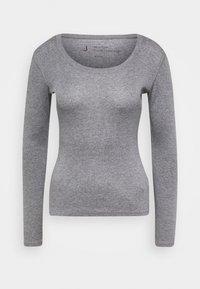 Opus - SORANA - Long sleeved top - easy grey - 0