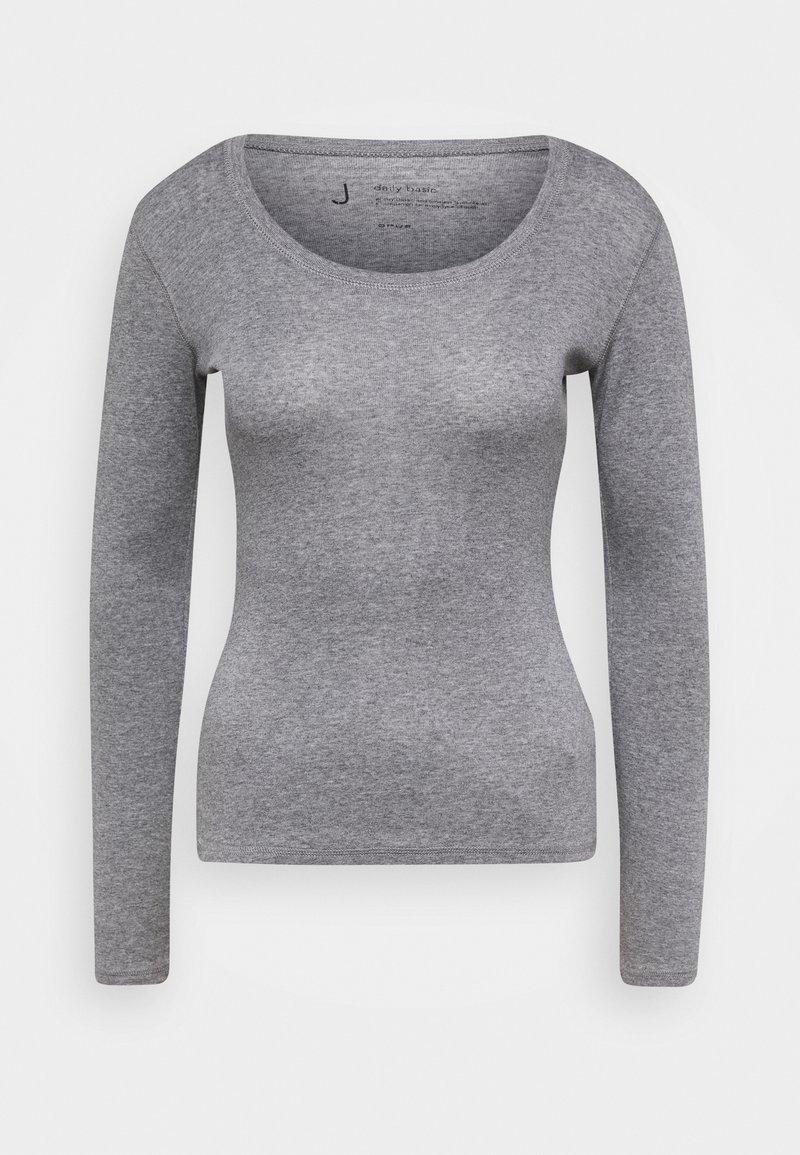 Opus - SORANA - Long sleeved top - easy grey