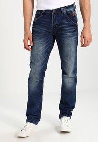Cars Jeans - YARETH - Straight leg jeans - dark washed - 0