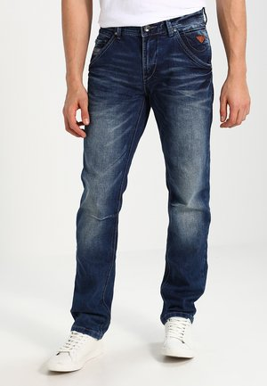 YARETH - Straight leg jeans - dark washed