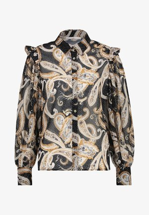 PAULINA - Button-down blouse - honey dessin