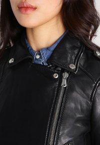 Oakwood - YOKO - Leather jacket - black - 3