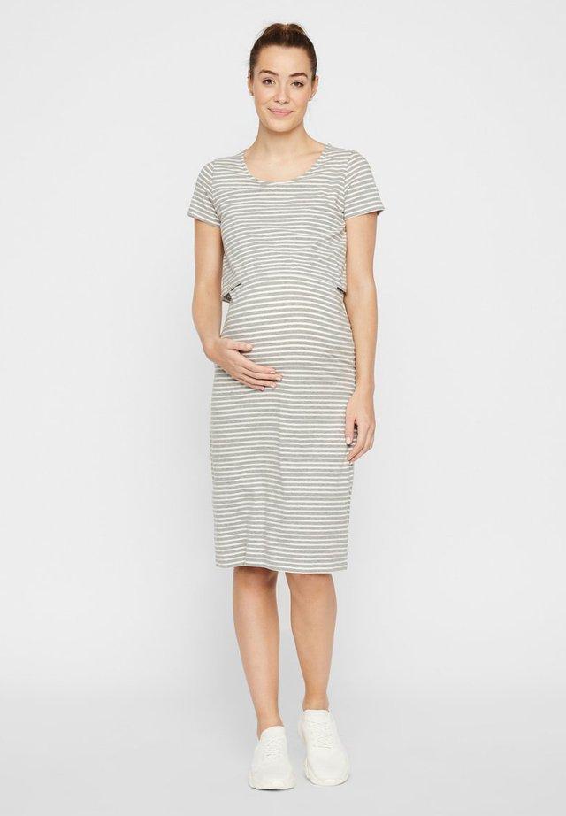 2-IN-1 - Day dress - light grey melange