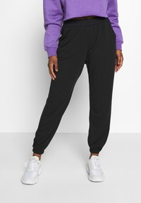 Missguided Petite - 2 PACK BASIC JOGGERS - Tracksuit bottoms - grey marl/black - 3