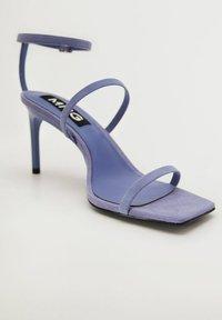 Mango - Sandály na vysokém podpatku - lavande - 1