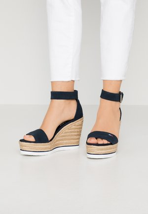LAORA - High heeled sandals - twilight navy