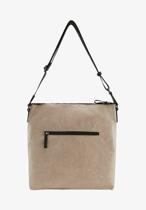 Across body bag - taupe / taupe