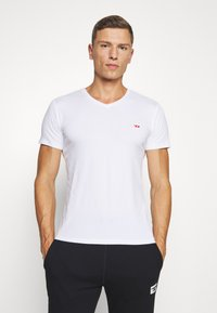 Diesel - UMTEE-MICHAEL 3 PACK - Undershirt - black/white/grey - 1