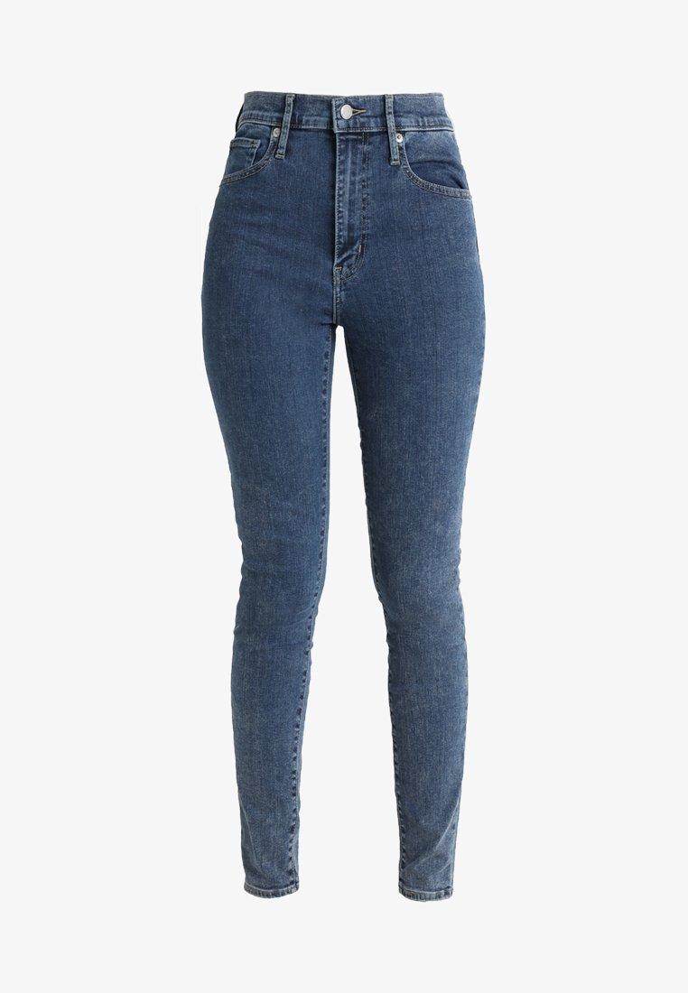 Levi's® MILE HIGH SUPER SKINNY - Jeans Skinny Fit - celestial rinse/rinsed denim xItxOD