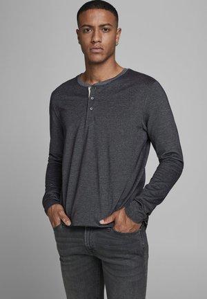 JJEJEANS NOOS - Pitkähihainen paita - grey melange