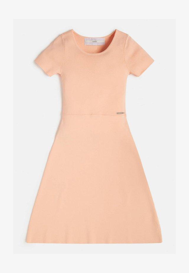 RIPPEN - Korte jurk - beige