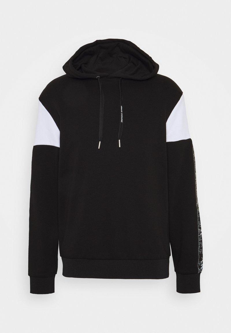 Armani Exchange - Hoodie - black/white