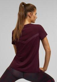 Esprit Sports - Basic T-shirt - bordeaux red - 5