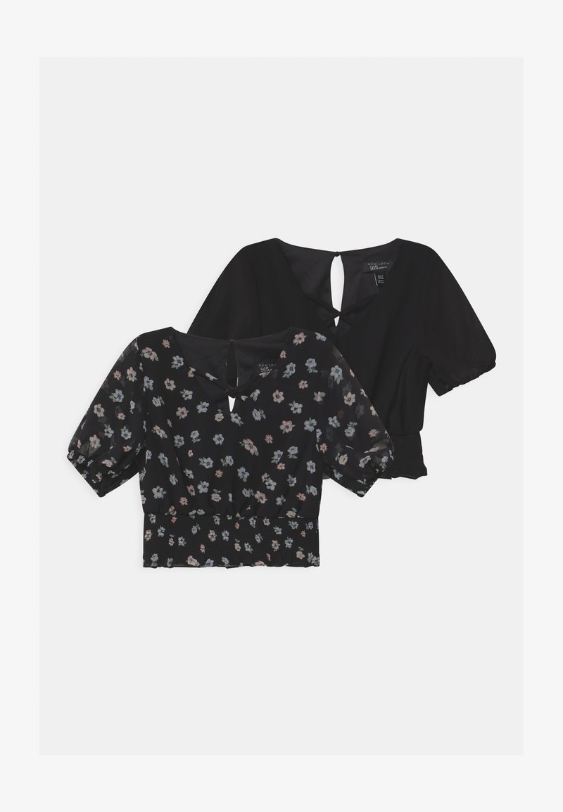 New Look 915 Generation - HAYLEY & SOL 2 PACK - Blouse - black