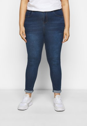 HIGH WAIST - Jeans Skinny Fit - indigo