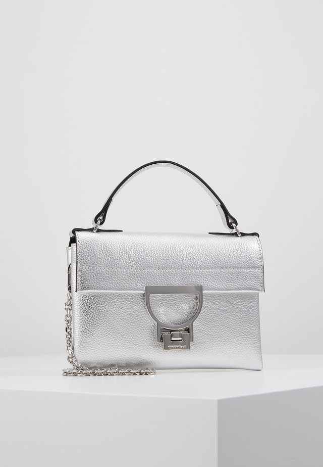 MIGNON SML FLAT XB - Sac bandoulière - silver