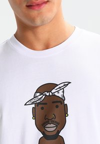 Mister Tee - LA SKETCH  - Print T-shirt - white - 3