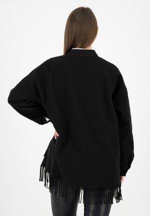 ARM - Short coat - schwarz uni