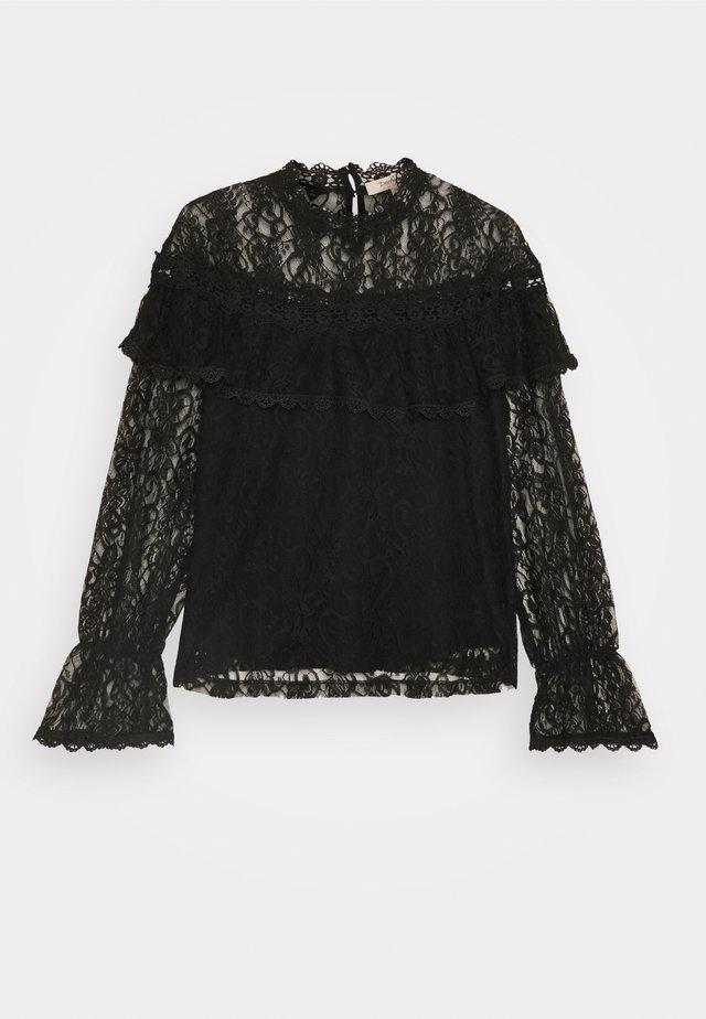 NAIVE - Maglietta a manica lunga - black