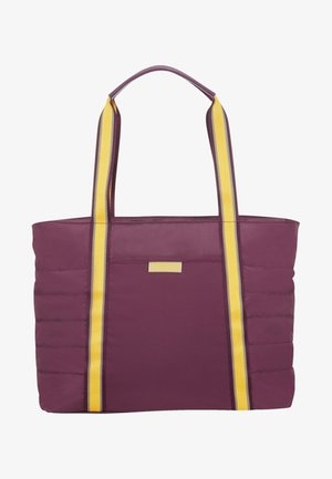 UPTOWN VIBES - Tote bag - purple/yellow