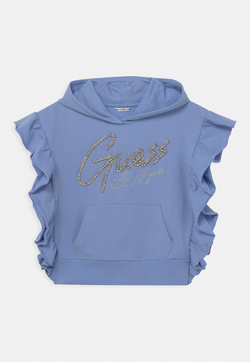 Guess - JUNIOR HOODED ACTIVE  - Sweatshirt - confidential blue