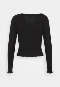 Lindex - LINNEA - Bluzka z długim rękawem - black - 1