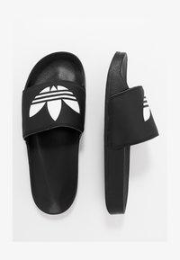 adidas Originals - ADILETTE LITE - Pantofle - black - 1