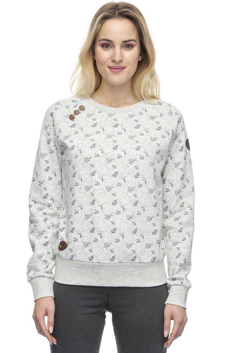 Ragwear Sweatshirt - white/weiß WuEy4X