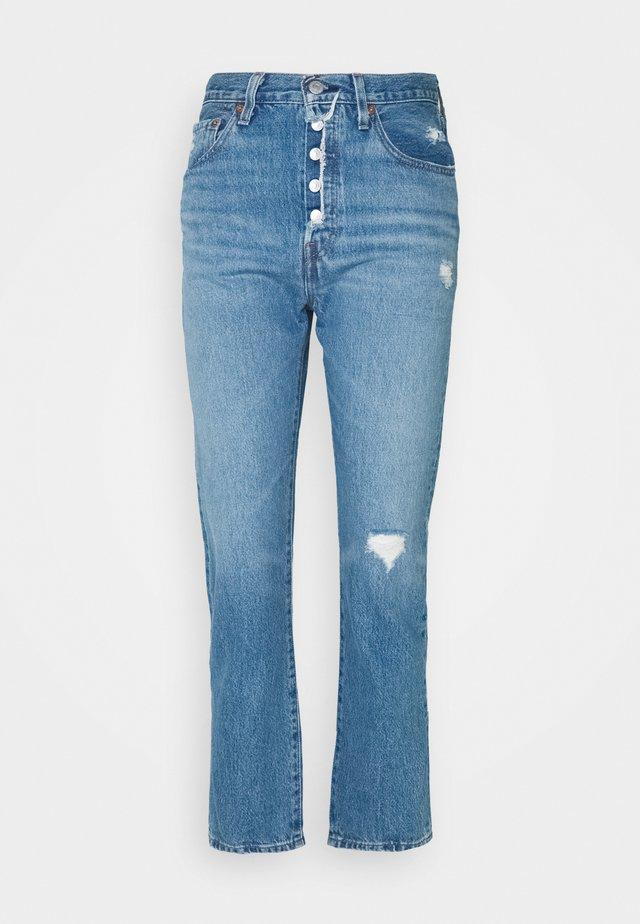 501 CROP - Jeans straight leg - athens adventure