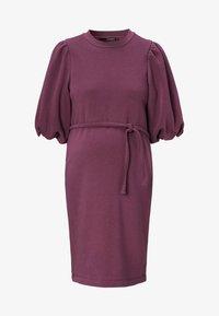 Supermom - SWEAT - Day dress - mauve wine - 3