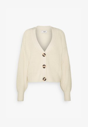 JDYJUSTY SHORT - Cardigan - eggnog