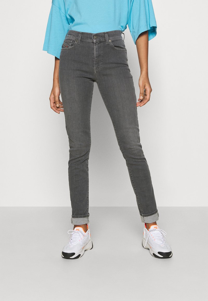 Diesel - D-ROISIN - Jeans Skinny Fit - grey