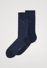 Tommy Hilfiger - SMALL STRIPE SOCK 2 PACK - Calze - blue - 0