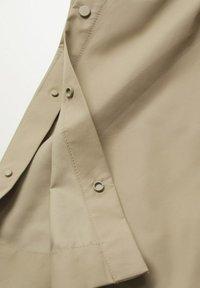 Mango - Classic coat - kaki - 6
