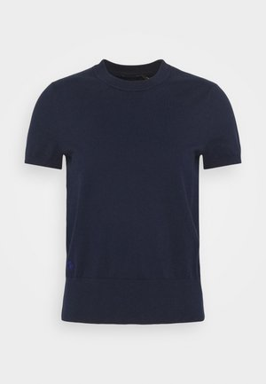 Basic T-shirt - bright navy
