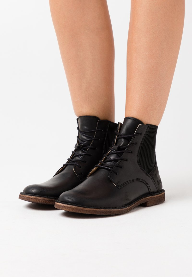 Kickers - TITI - Ankle boots - other black