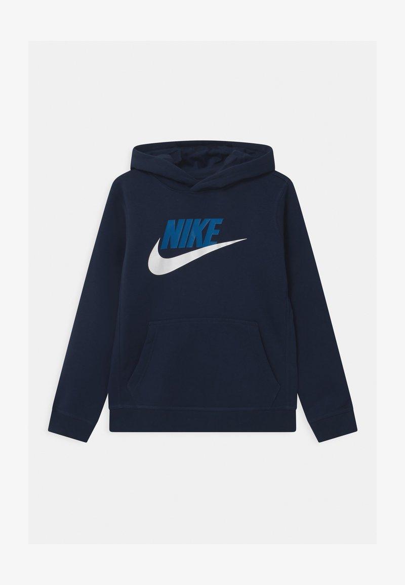 Nike Sportswear - CLUB - Mikina skapucí - midnight navy
