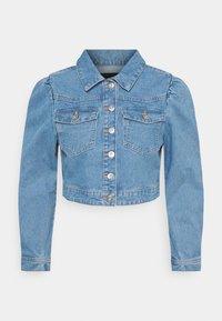 Pieces Petite - PCGREYSON  - Denim jacket - light blue denim - 0