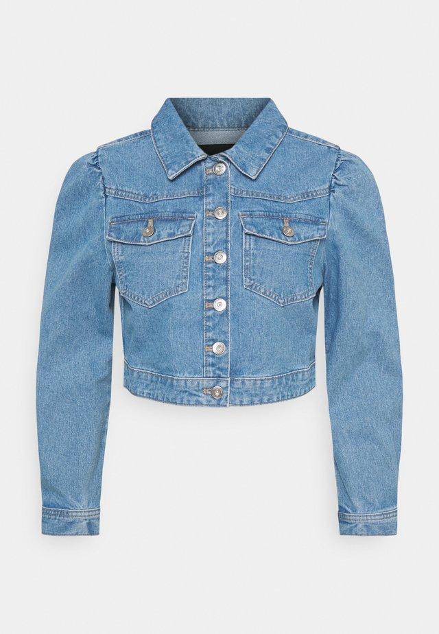 PCGREYSON  - Giacca di jeans - light blue denim