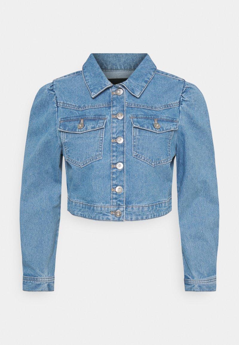 Pieces Petite - PCGREYSON  - Denim jacket - light blue denim