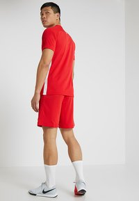 Nike Performance - DRY ACADEMY - T-Shirt print - university red/white - 2