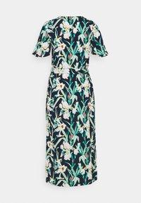 Vero Moda Tall - VMSIMPLY EASY CALF SHIRT DRESS - Vestido camisero - navy blazer - 1