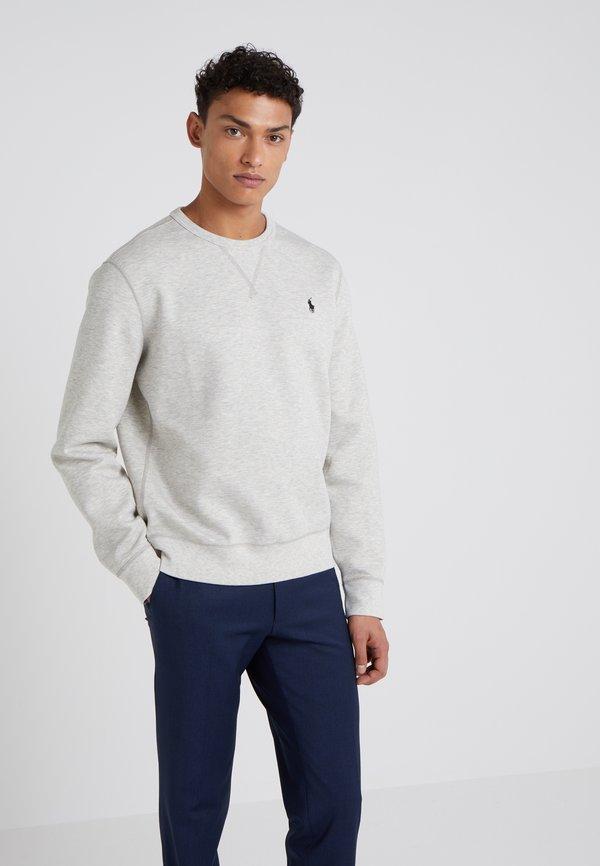 Polo Ralph Lauren DOUBLE TECH - Bluzka z długim rękawem - light heather/szary Odzież Męska WVBG