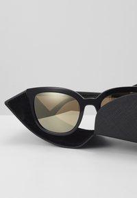 Prada - Sunglasses - top black/green - 3