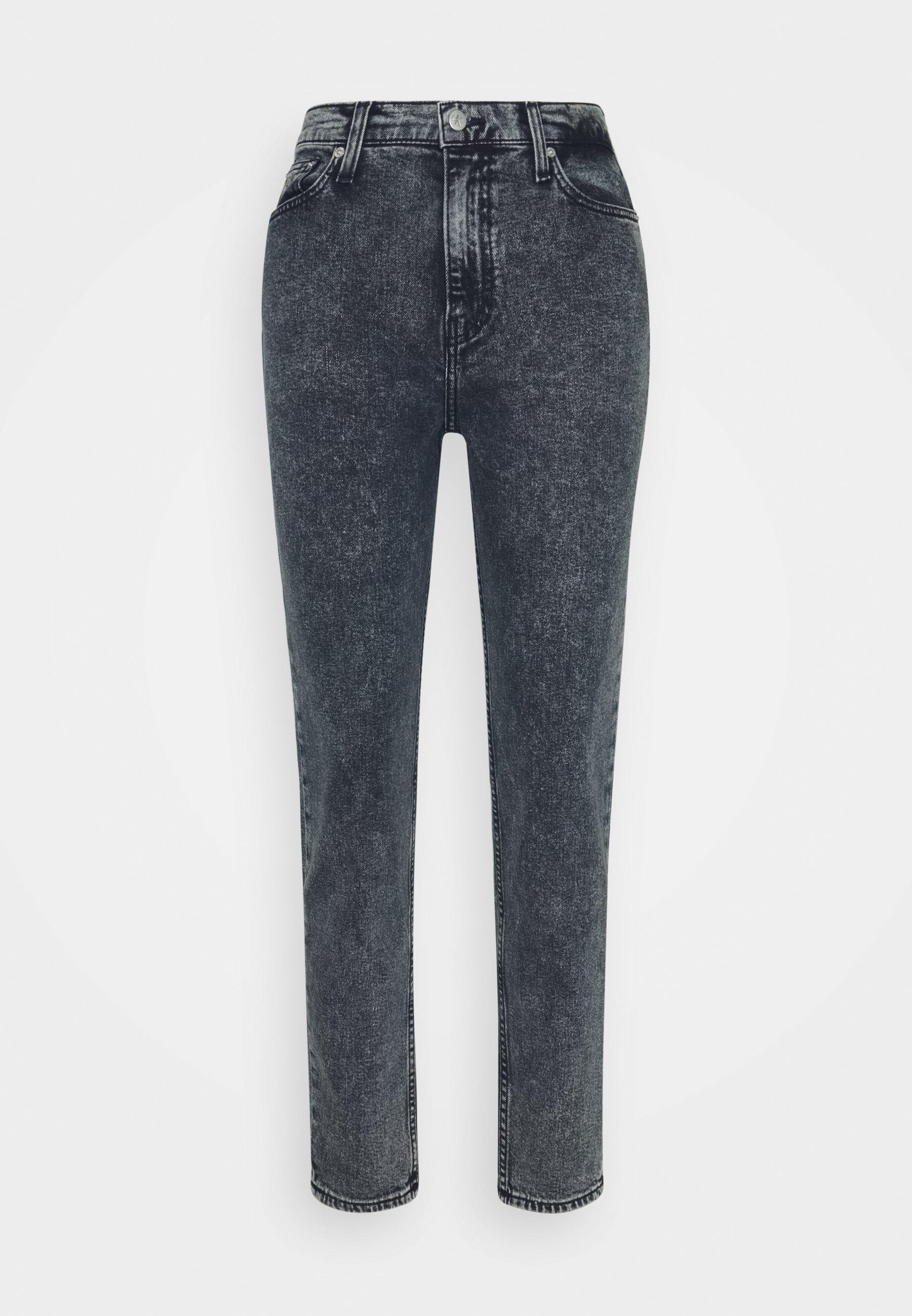 Calvin Klein Jeans MOM - Jean boyfriend - blue black