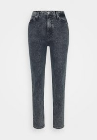 Calvin Klein Jeans - MOM - Relaxed fit jeans - blue black - 3