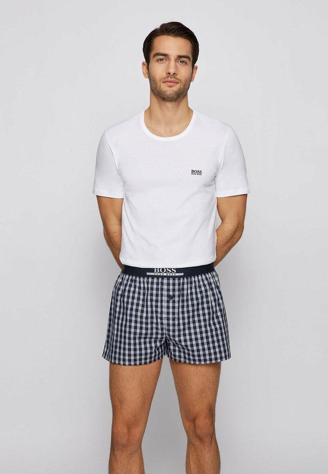 2 PACK - Pyjama bottoms - dark blue